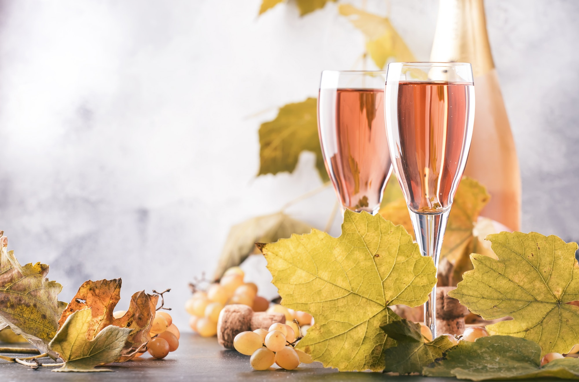 שמפניה ורודה